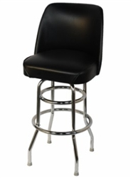 Double Ringle Metal Barstool
