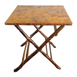 Bamboo Square Table