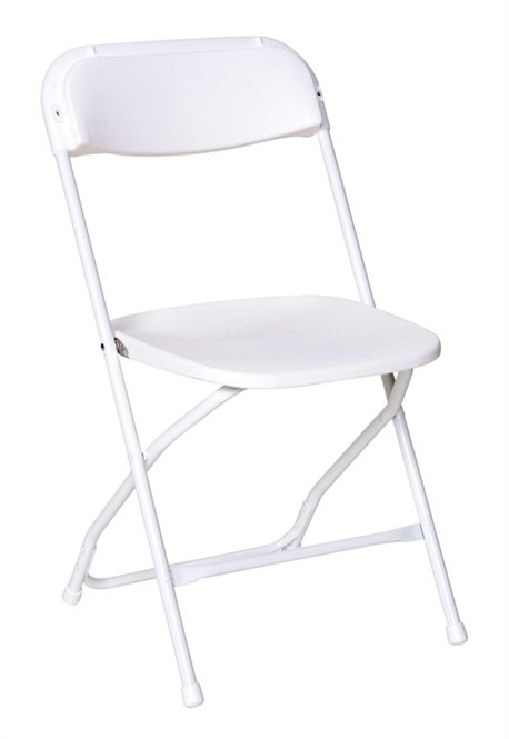 Prices White Plastic Folding Chair