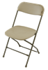 Cheap Prices, Beige  Folding Chairs | Plastic Folding Chairs |