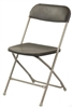 Cheap Prices Charcoal Plastic Folding Chair