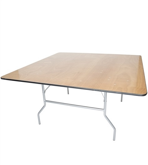 48  x 96 Plywood Folding Table, Miami  Banquet Cheap Wholesale Tables, Lowest prices wood Florida