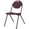 Mity-Lite Stack Chair Brown