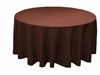 "Chocolate 70"" Round Tablecloth"
