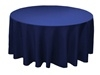 "Navy 70"" Round Tablecloth"