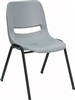 Gray Stacking Chair