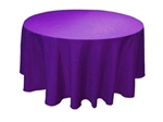 "108"" Round Table Cloth - 10 Colors"