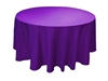 "120"" Round Table Cloths - 10 Colors"