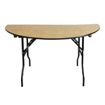 "OHIO Wood folding tables features 3/4"" thick birch plywood, OHIO FOLDING TABLES"