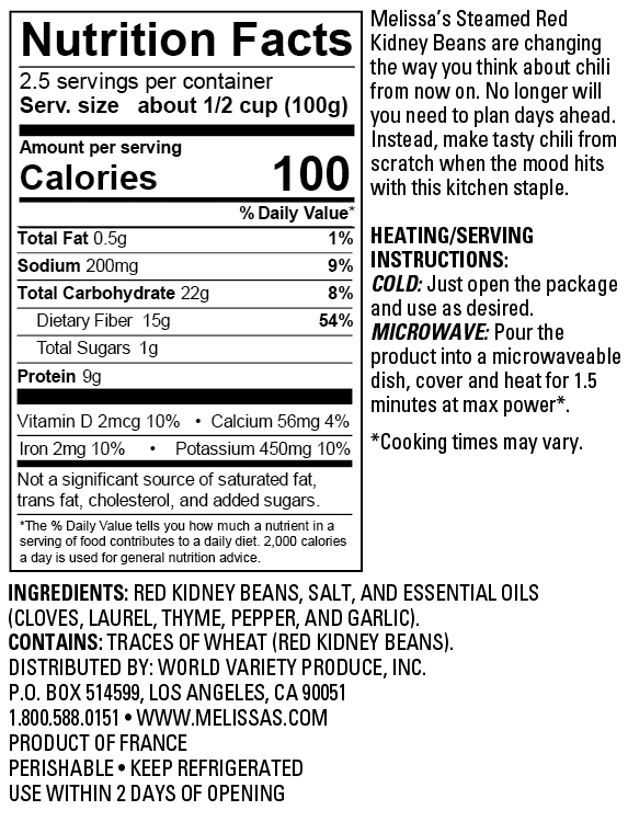 Kidney Beans Nutrition Facts 100g Nutritionwalls