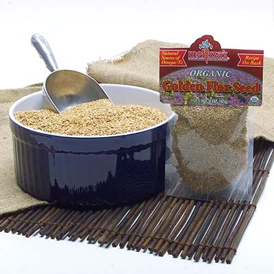 Roasted Organic Golden Flax Seed