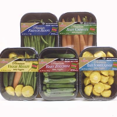 Microwavable Vegetables