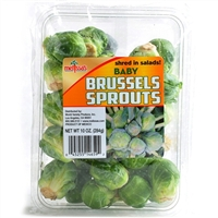 Baby Brussels Sprouts (Flow Wrapped Package)