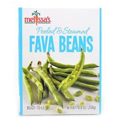 Peeled & Steamed Fava Beans