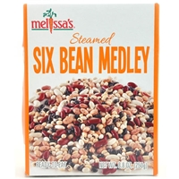 Steamed Six Bean Medley