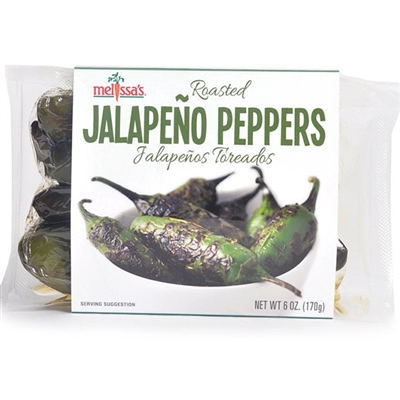 Roasted Jalapeno Peppers