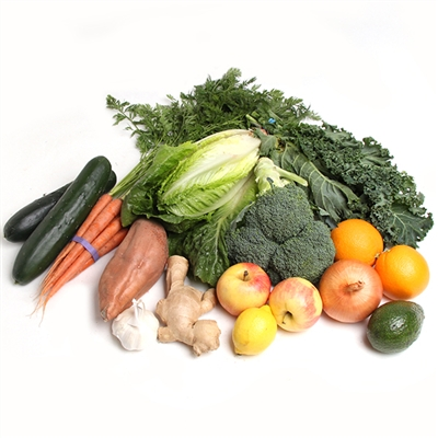 Organic Mixed Vegetable and Fruit 70/30 Box Southern California Delivery