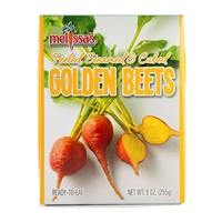 Steamed Golden Beets