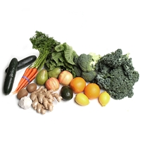 Organic Mixed Vegetable and Fruit 50/50 Box Southern California Delivery