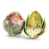 5 Minute Microwaveable Artichokes