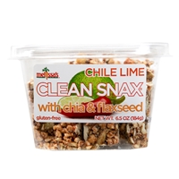 Clean Snax Case  Chile Lime