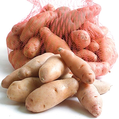 Organic Ruby Crescent Fingerling Potatoes