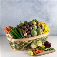 Baby Vegetables Basket