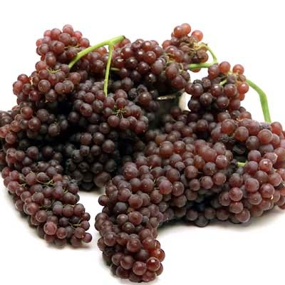 how to eat champagne grapes