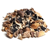 Dried Asian Mushrooms