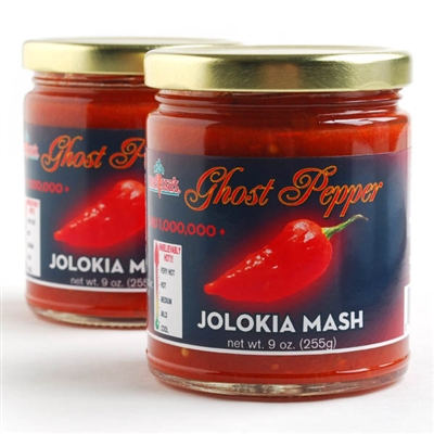 Ghost Pepper Jolokia Mash