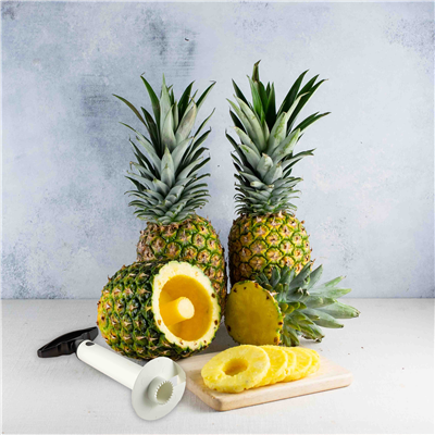 Gold Pineapples with Corer