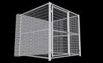 Dog Kennel Indoor/Outdoor6'W x 6'L x 6'H