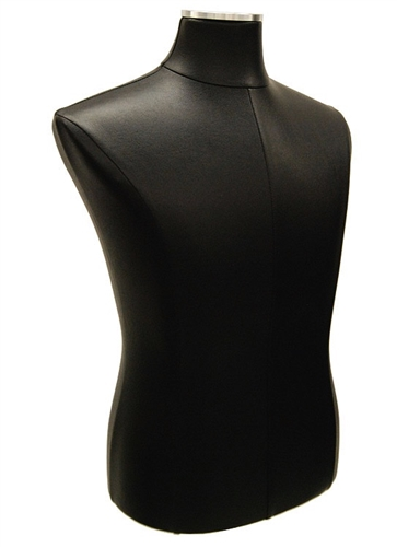 Male Body Form in Black Leatherette