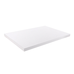 "24"" Wide White Melamine Shelf - Set of 2 - Compatible with White Pipe Collection"