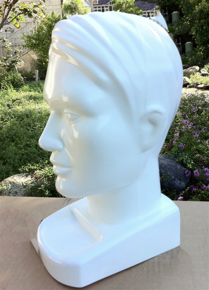 Sunglasses Display Form | Hat Mannequin Form | Realistic Male Head ...