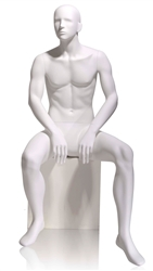 Seated Male Mannequin