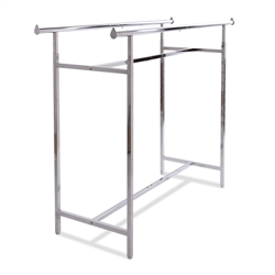 Adjustable Chrome Double Bar Rack
