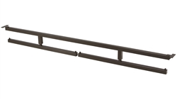 Fixed Swivel Hang Bar for Bronze Freestanding Merchandising Unit