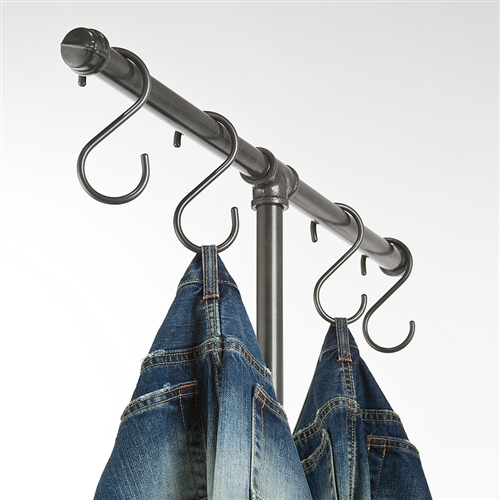 S-Hook Garment Displays from www.zingdisplay.com
