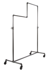 Adjustable Garment Display Rack from www.zingdisplay.com
