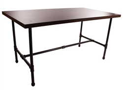 Large Capacity Table in Dark Brown from Zing Display