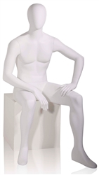White Male Mannequin - Sitting Down from www.zingdisplay.com