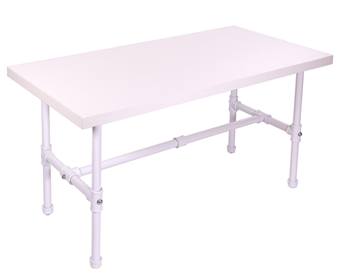 Small Capacity Table in Glossy White from Zing Display