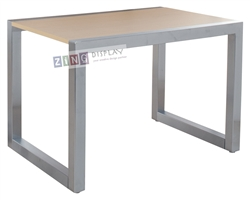 Satin Chrome Display Table