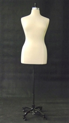 Female Dress Form Size 14/16 - Dressmaker Base Included