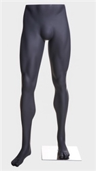 Athletic Male Mannequin Legs Pant Form Matte Grey