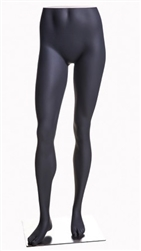 Athletic Female Mannequin Legs Pant Form Matte Grey