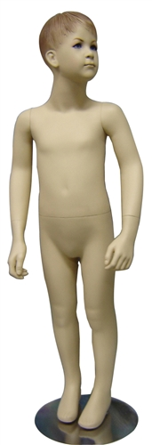 Male Child Mannequin with Realistic Facial Features from www.zingdisplay.com
