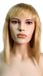 Blonde Wig Shoulder length with bangs