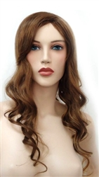 Long Curly Brunette Mannequins wig